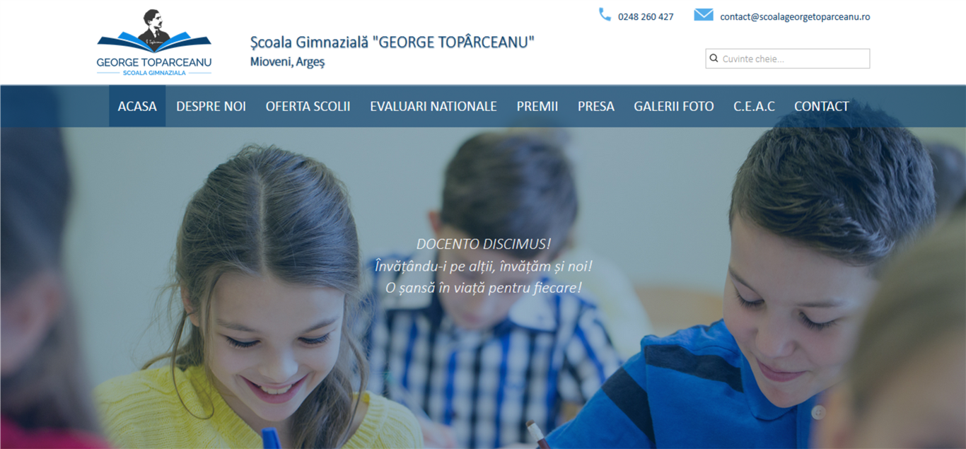 Scoala Gimnaziala George Toparceanu